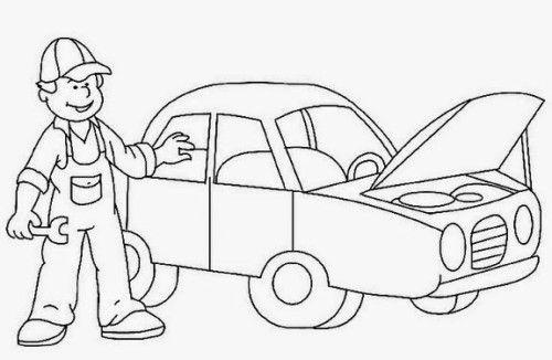 1º De Mayo Dia Del Trabajador Dibujos Carteles Reflexiones Imagenes Para El Dia De Los Trabajadores Cartoon Coloring Pages Mechanical Art Colouring Pages