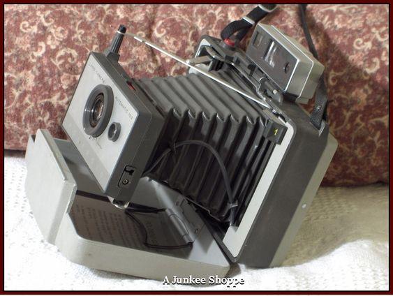 POLAROID Model 103 Folding Land Camera 1965 Thru 1967 Vintage Used Photography   HP 2615  http://ajunkeeshoppe.blogspot.com/