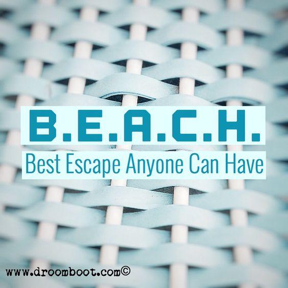Beach Quote