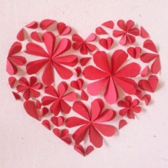 Create a Beautiful Petal Heart Card | Guidecentral