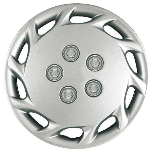 Cci Iwcb87714s 14 Inch Clip On Silver Finish Hubcaps Pack Of 4 Continue To The Product At The Image Link This Is An Aff Wheel Cover Car Wheels Oem Wheels