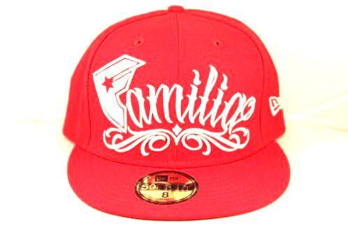 Famous Stars and Straps Familia New Era Hat - Red