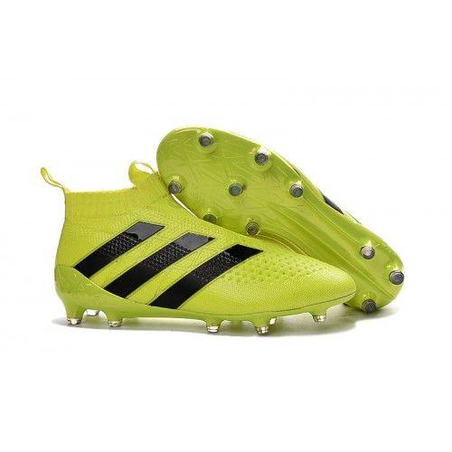 Betsy Trotwood Artesano silencio  Adidas ACE 16 PureControl FG Gelb Schwarz | Adidas soccer shoes, Adidas  cleats, Soccer cleats adidas