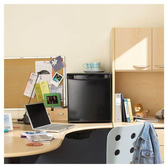 Danby Designer Mini Refrigerator -dorm room cooking essentials - todaywedate.com
