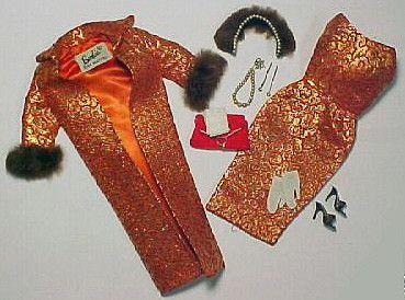 Barbie's Golden Elegance outfit!