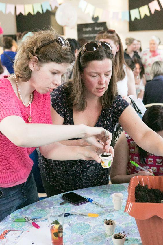 @Etsy #CraftPartyLeam 2014 photo Courtesy of Fiona Murray.