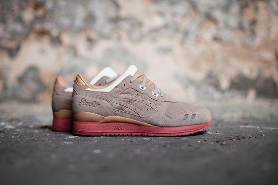 Packer Shoes x ASICS Gel Lyte III Dirty