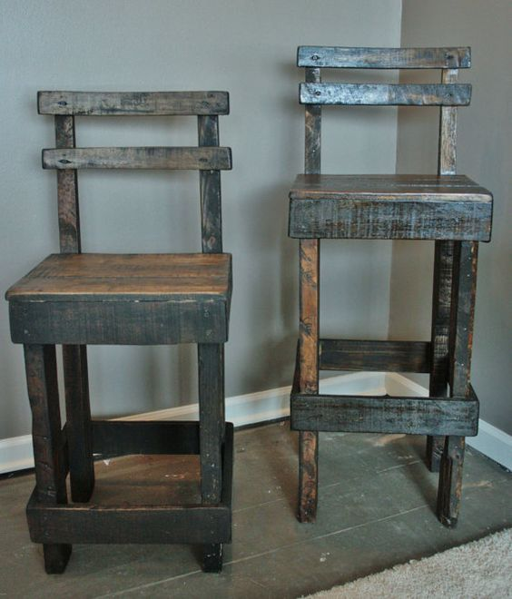 Pallet Kitchen Chairs: Pinterest • The World's Catalog Of Ideas