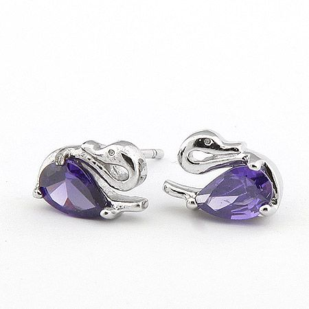 Wholesale Little Swan exquisite fashion earrings (similar to allergies),Fashion Earrings,E87877