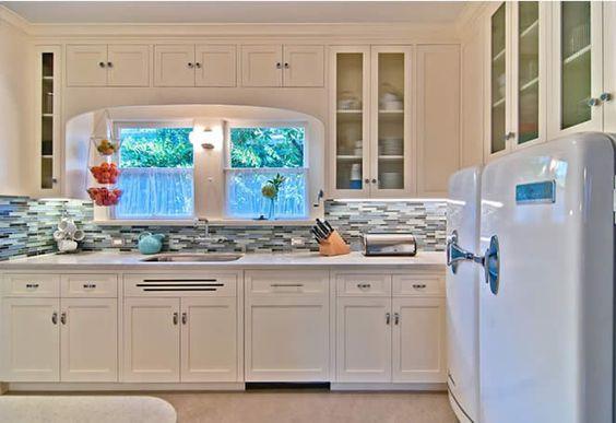 Tendências em decoração de cozinhas 2017: Cozinha Retrô