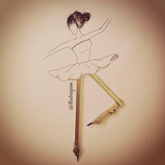 ballerina by illustragram
