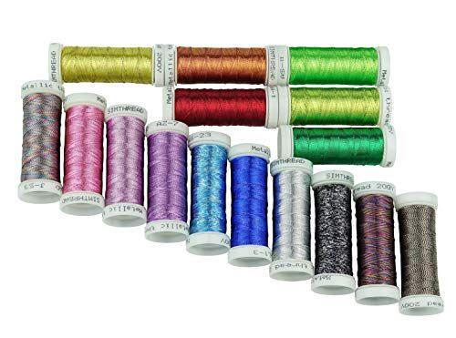 38.2-Yard DMC Diamant Metallic Needlework Thread Light Gold 010294