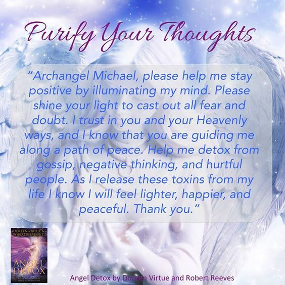 Archangel Michael and Doreen Virtue quote!