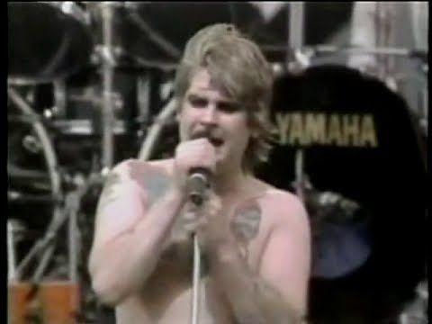 Ozzy Osbourne  -  Paranoid/Crazy Train 1983