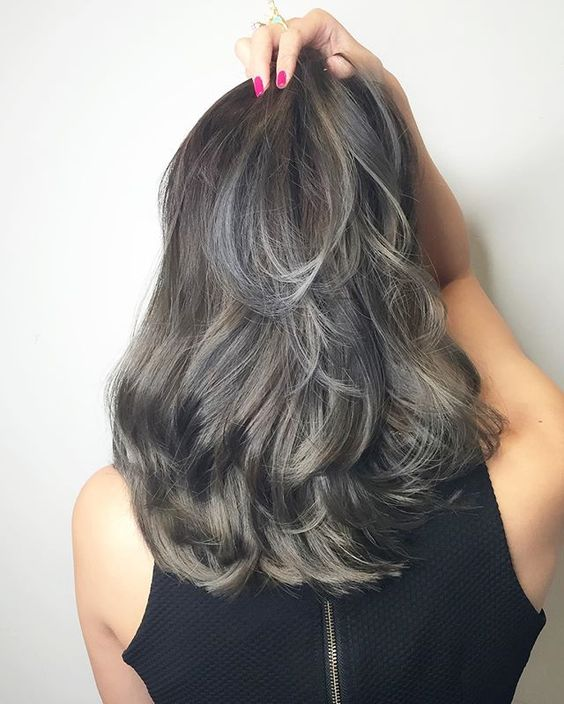Grey ash with blue of babylights ********** CLEO hair international call here 63385250 for book appointment Hair done by @takuyaxtakuya #hair #haircolor #hairstyle #japanese #hairstylist #singapore #singaporean #color #colors #colour #colours #highlight #highlights #babylights #babylightsombre #ombre #balayage #takuyahair #cleohairsg #colourmelt #transformation #makeover #bluehair #greyhair: