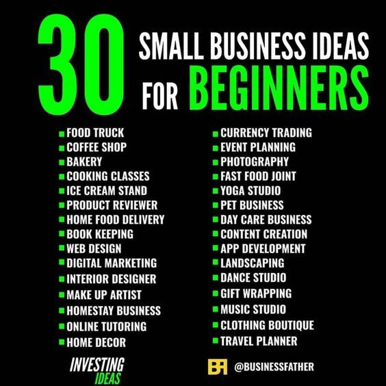 Ultimate Guide For Small Business Ideas Best Business To Start Business Ideas For Beginners Business Money Business Ideas Entrepreneur