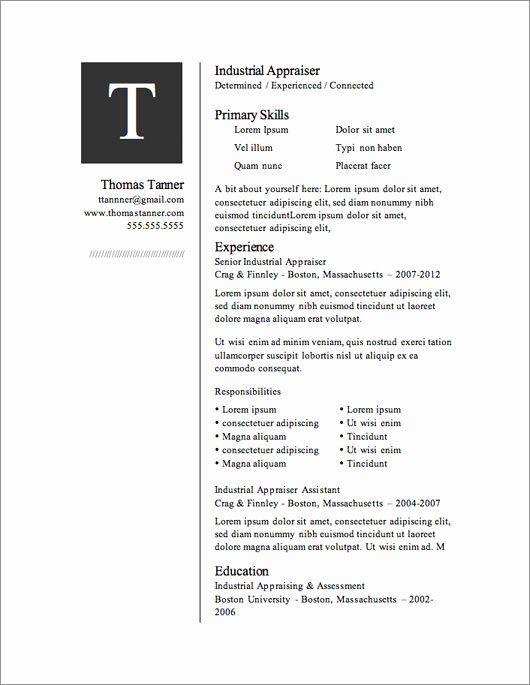 Microsoft Word Template Downloads Fresh 12 Resume Templates For Microsoft Wo In 2020 Best Free Resume Templates Free Resume Template Download Free Resume Template Word
