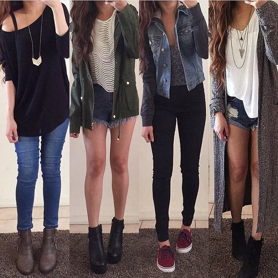 1, 2, 3, or 4? Double tap for these outfits from @rinasenorita