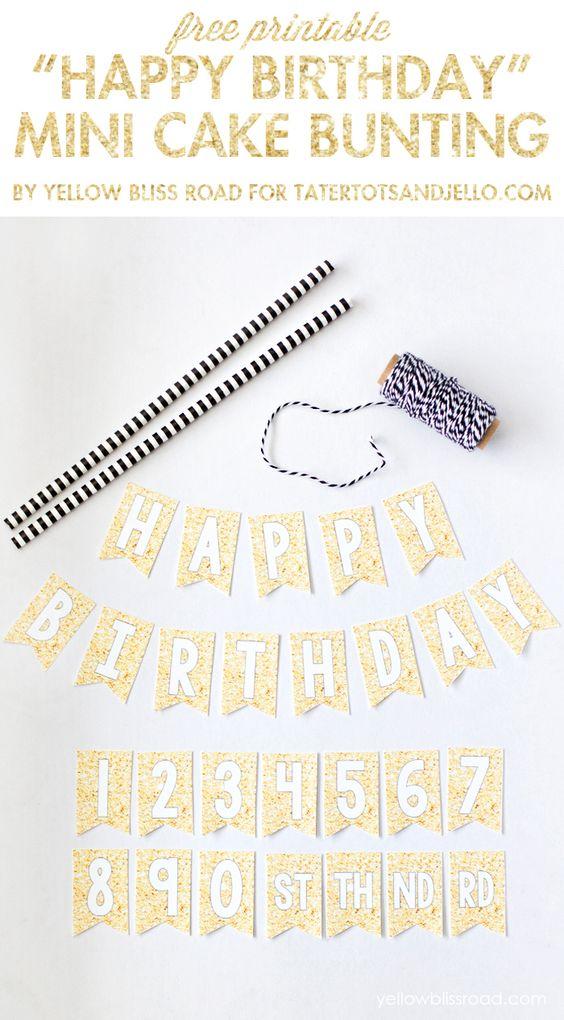 Birthdays Happy And Glitter On Pinterest