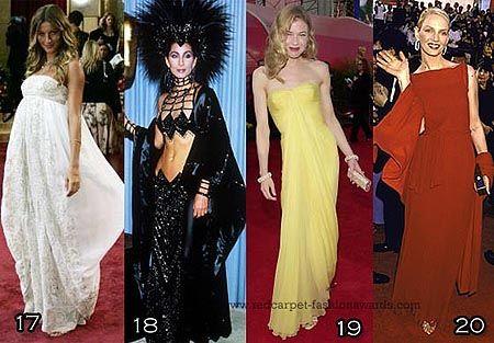 De 3000 personas encuestadas, se ha elegido una lista de los 10 mejores vestidos de famosas en la alfombra roja de todos los tiempos. Algunos son clásicos, como el de Audrey Hepburn en su Givenchy ...