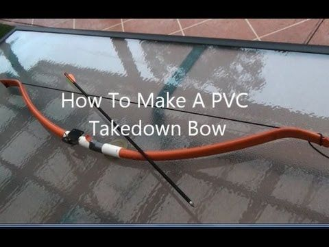 How to make a cheap but really powerful and accurate ultra for Bow made out of pvc pipe