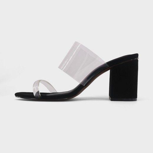 Women's Translucent Heeled Sandal Rumor Who What Wear