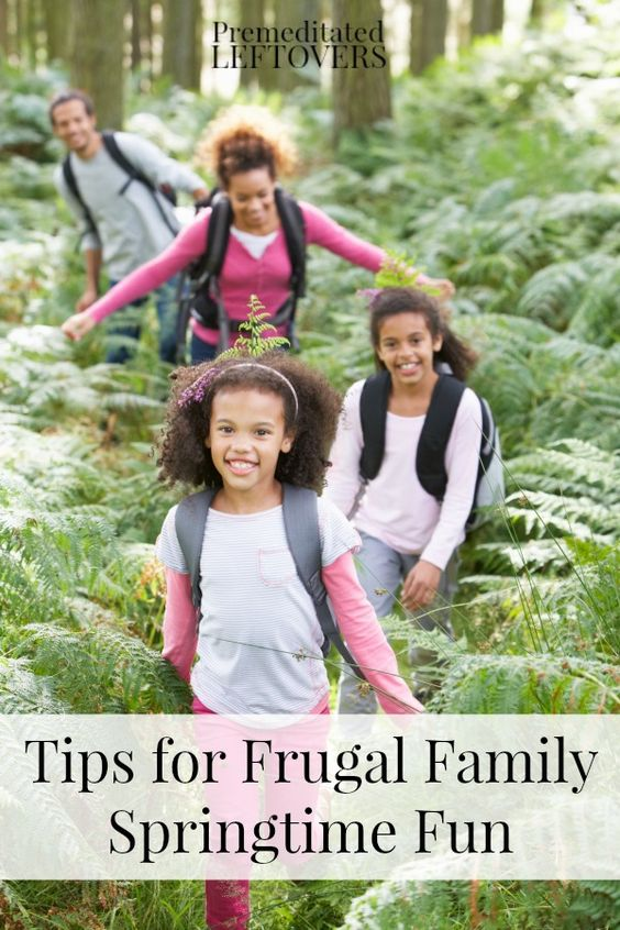 Spring Frugal Family Fun Pinterest Spring Break Families And Activities