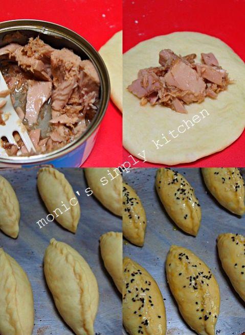 Roti Isi Tuna Kaleng Rotis Makanan Resep Makanan