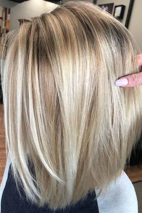 Hairstyles For Thin Hair Medium Hair Styles Hair Styles Light Blonde Hair