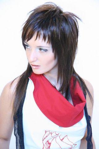 Sensational Emo Long Hairstyles And Long Hair Cuts On Pinterest Short Hairstyles Gunalazisus