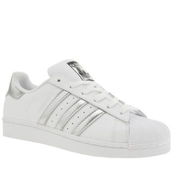 white superstar adidas shoes