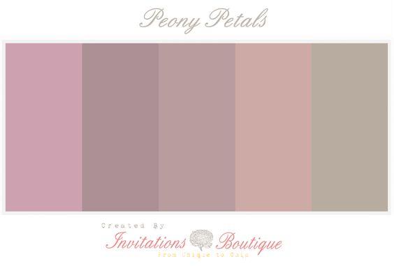 pale blush tones