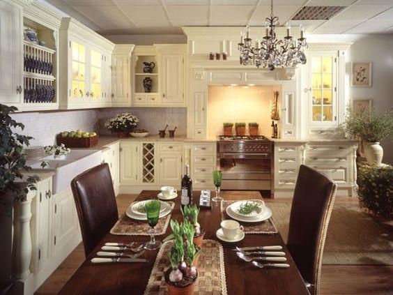 Английский стиль в дизайне интерьера кухни - Дизайн интерьеров | Идеи вашего дома | Lodgers