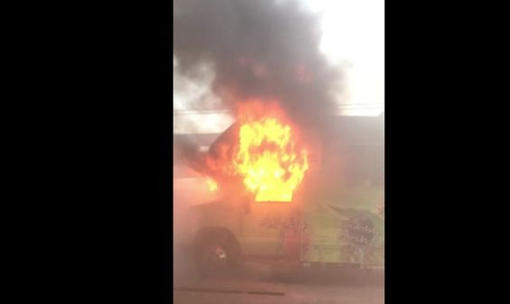 nice A 'Weed World' Truck Filled With Marijuana Candy Went Up In Flames On The Delaware Memorial Bridge (Videos) Check more at http://viralleaks.us/2016/10/25/a-weed-world-truck-filled-with-marijuana-candy-went-up-in-flames-on-the-delaware-memorial-bridge-videos/