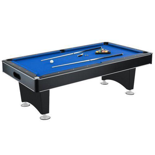Pool Table With Blue Felt Internal Ball Return System Best Offer 7 Foot Pool Table Pool Table Pool Table Slate