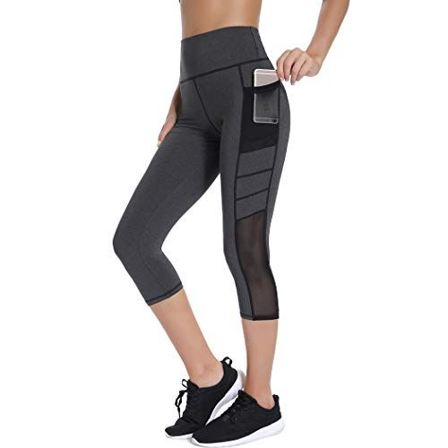 Damen Fitnesshose Training Joggen Yoga Sportanzug Freizeit Sweatpants lang 3//4