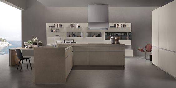 O estilo clean da cozinha Icon da Ernesto Meda segue as tendências ...
