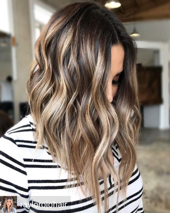 Color Easy Maintenance Balayage Hair