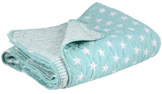 Cute quilt from Ib Laursen. Love the colour, just bought this plus couple of cushions to my son's room :)