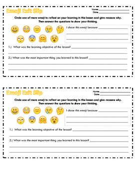 This is an exit slip appropriate for ANY lesson.  Students are asked to reflect on their learning and give reasoning for it - Danielson Evaluation Criteria!  Then they must explain what the objective was for the lesson and what they actually learned from the lesson.