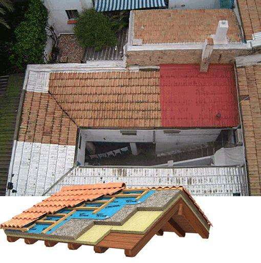 impermeabilizacion y aislamiento de cubiertas de madera - Buscar con Google