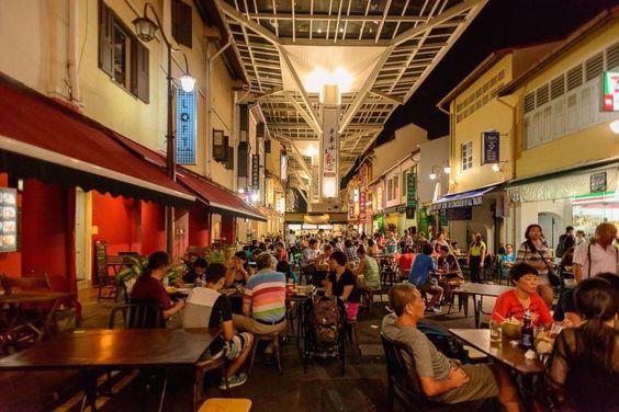 Khu phố ẩm thực Singapore