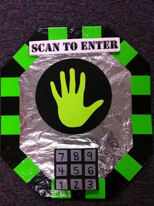 Computer Classroom Decorations ~ Scan to enter the story laboratory vbs agency d