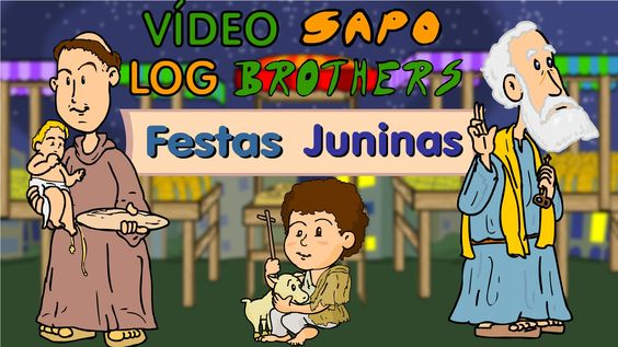Vlog dos Sapo Brothers: Festas Juninas
