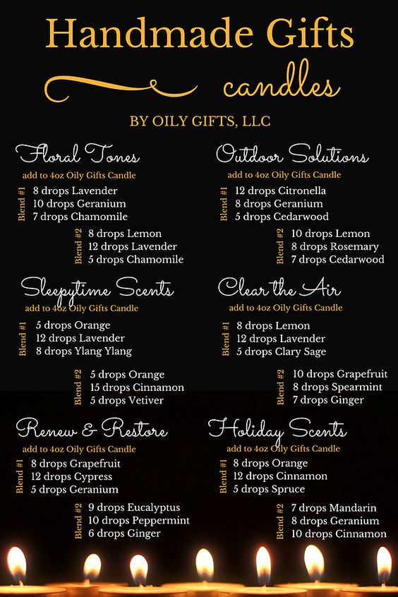 Young Living Essential Oils: Candles