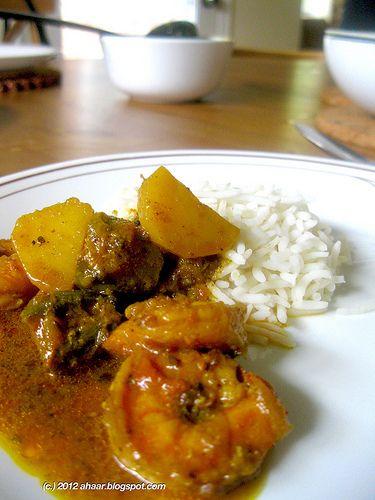 Bengali shrimp curry