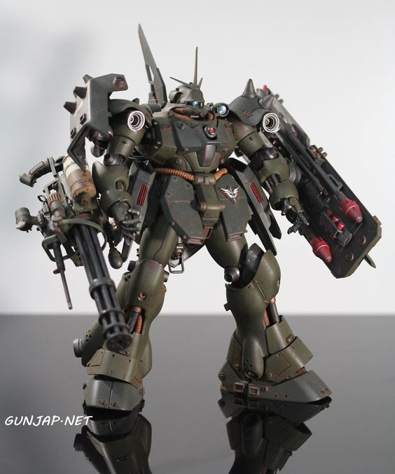 AMS-119 Geara Doga: Work by Ngo Phong. Photo Review, Info http://www.gunjap.net/site/?p=268363