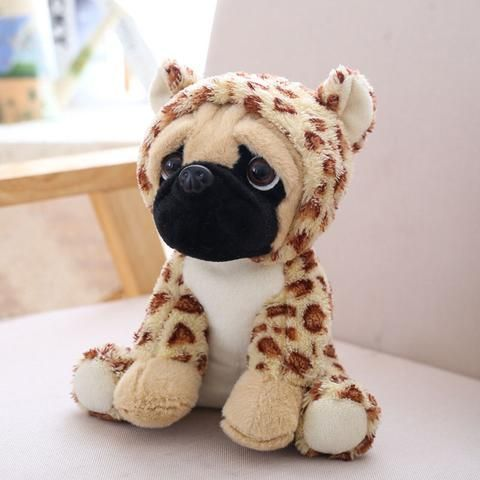Pug Plush Toy Cute Plush Plush Animals Pet Toys