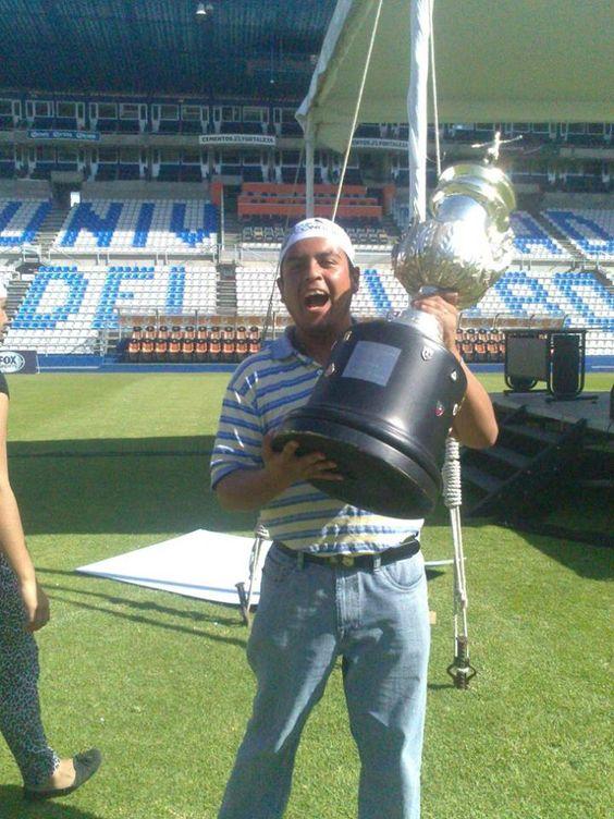 El trofeo!!!