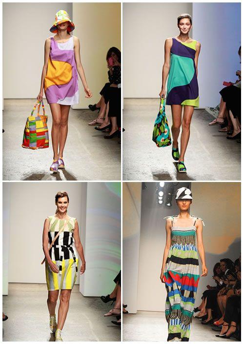 Marimekko P/E 2013 #Marimekko #Spring2013 #Dress #Colors